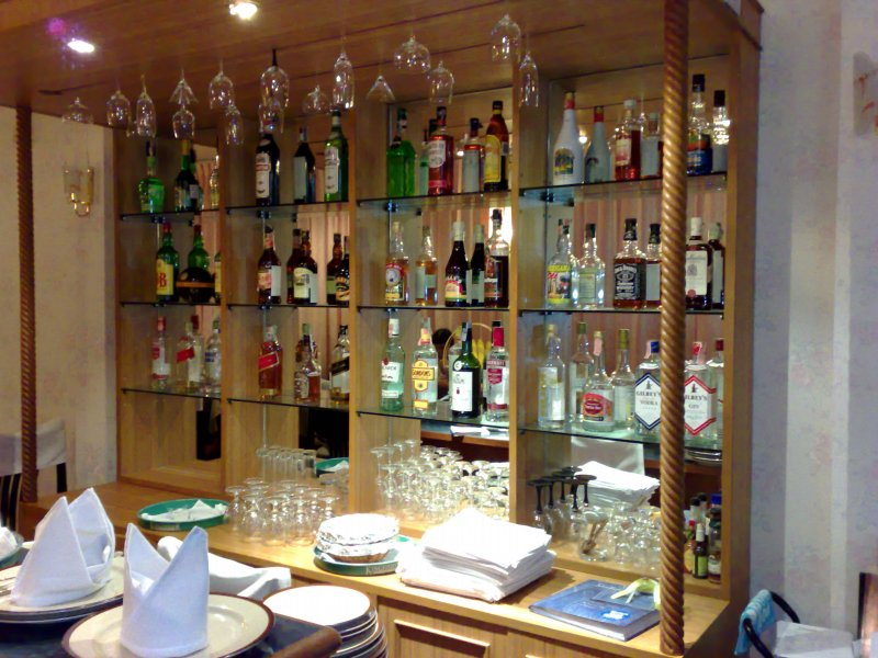 Little bar in indian restaurant bangkok thailand walk for Ajays catering cuisine