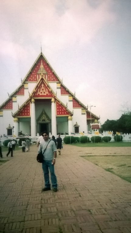 Walking in Bangkok and Ayutthaya : Thailand (Feb'03) 4