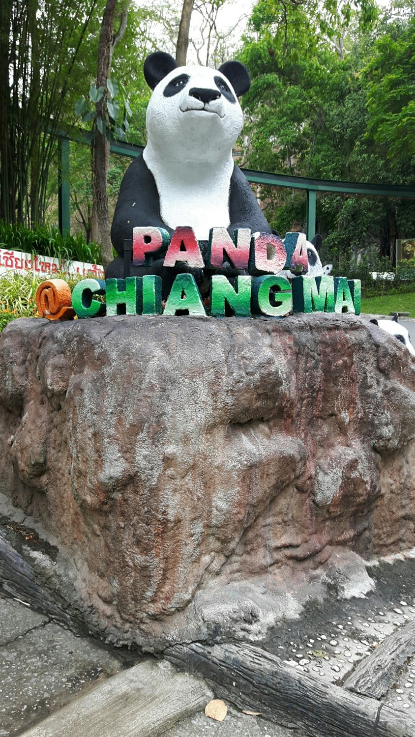 Walking in Chiang Mai Zoo, Chiang Mai : Thailand (Apr'17) 26