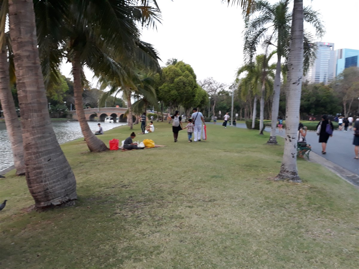 Walking in Chatuchak Park : Bangkok, Thailand (May'17) 6