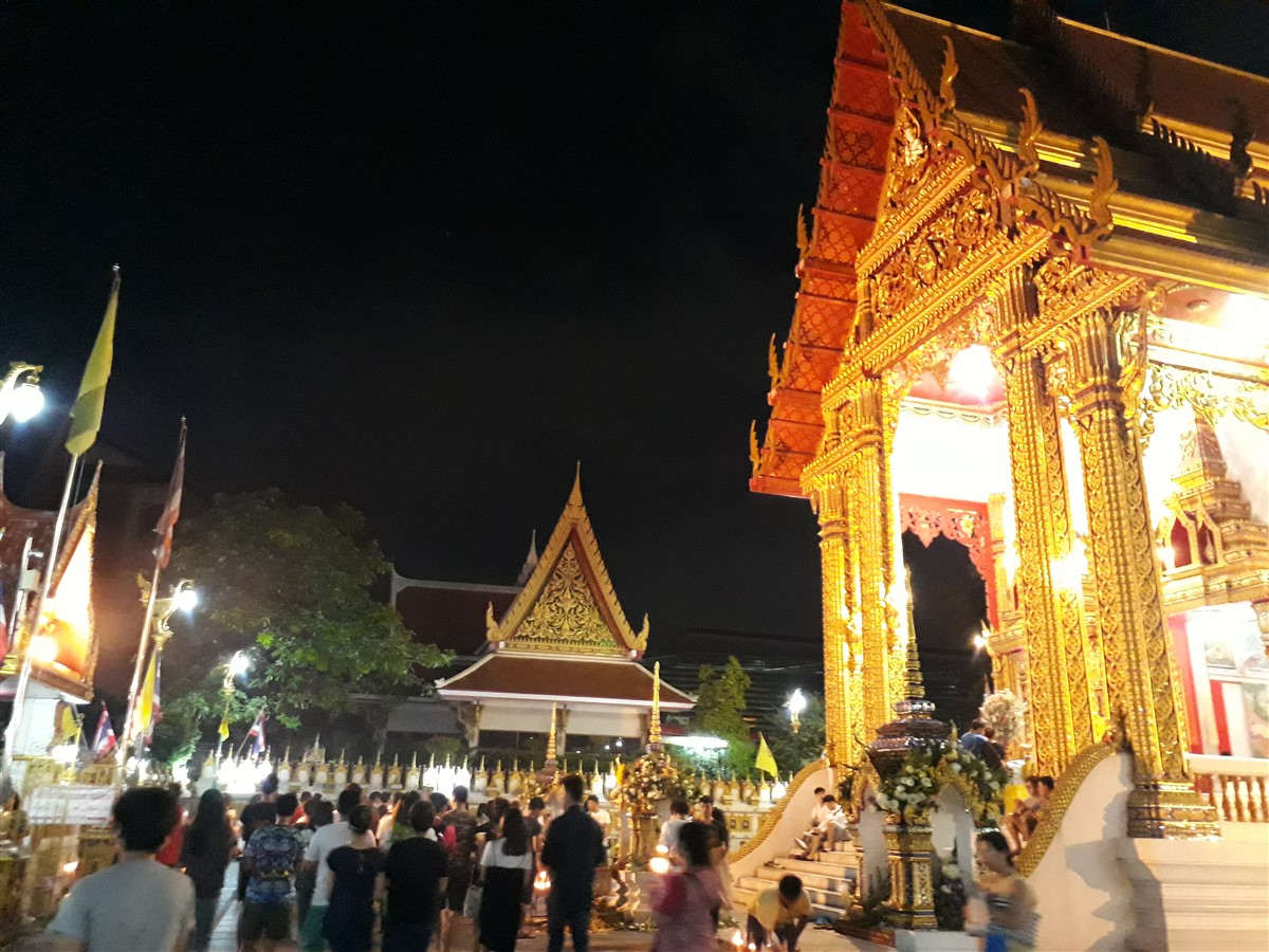 Walking in Wat Thepleela Temple, Bangkok : Thailand (May'17) 8