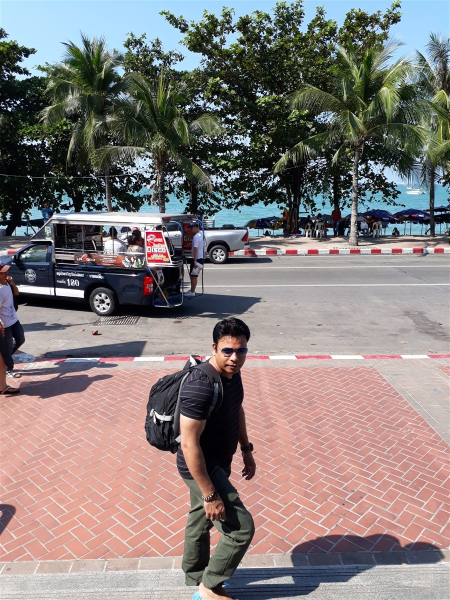 Walking in Pattaya : Thailand (Jan'18) 3