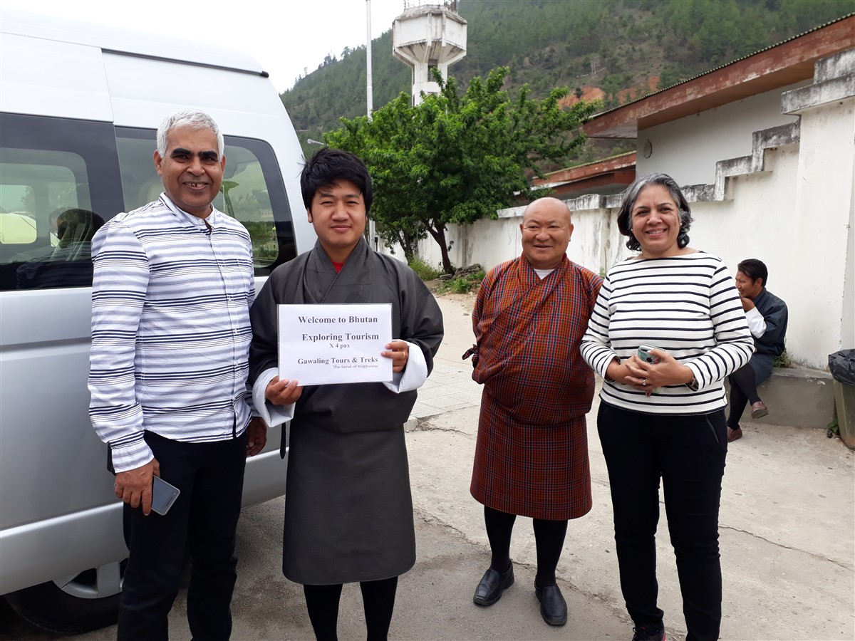 Walking in Paro to Thimphu : Bhutan (Jun'18) - Day 1 5