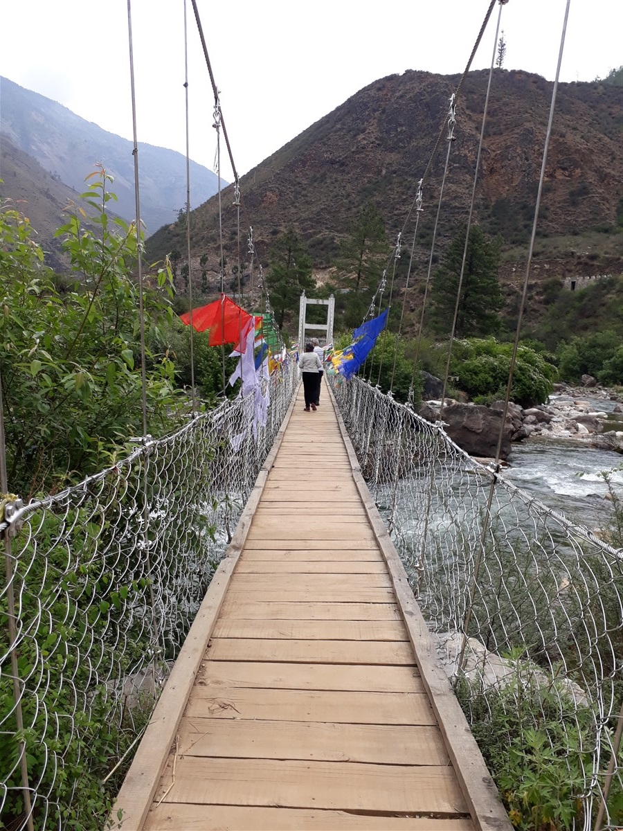 Walking in Paro to Thimphu : Bhutan (Jun'18) - Day 1 12