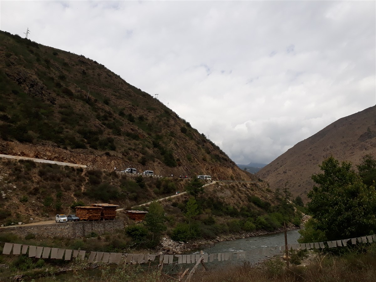Walking in Paro to Thimphu : Bhutan (Jun'18) - Day 1 11