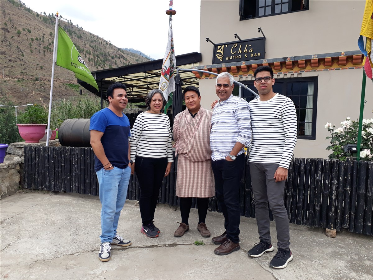 Walking in Paro to Thimphu : Bhutan (Jun'18) - Day 1 19