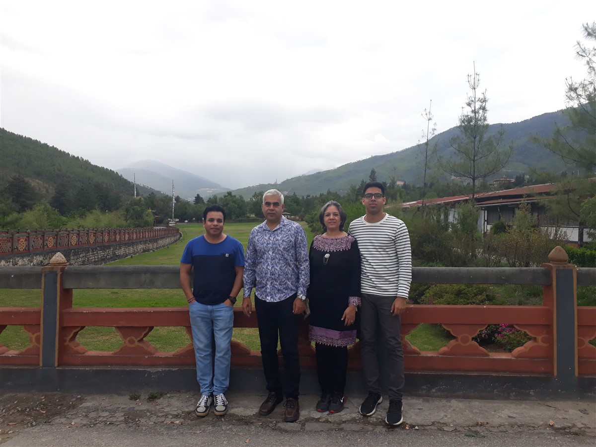 Walking in Paro to Thimphu : Bhutan (Jun'18) - Day 1 63