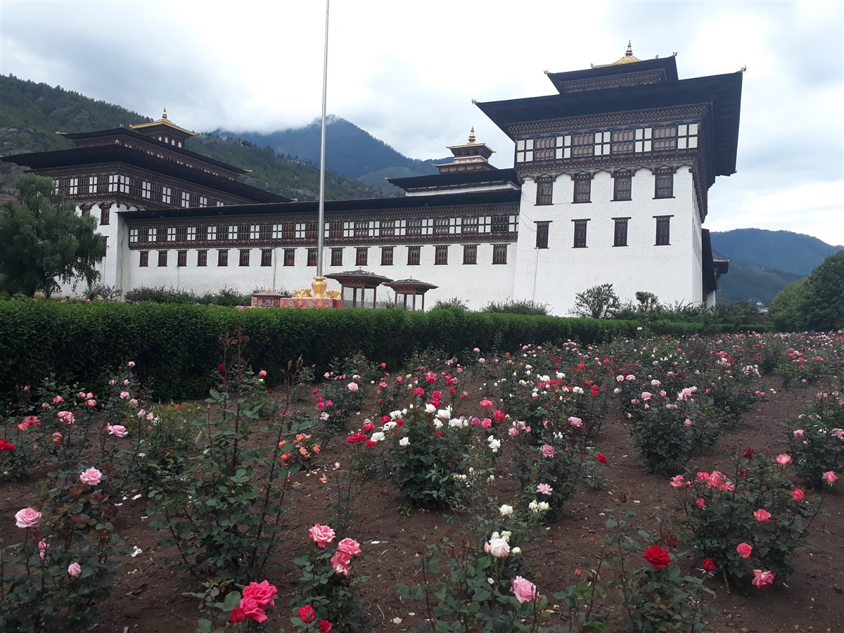 Walking in Paro to Thimphu : Bhutan (Jun'18) - Day 1 62