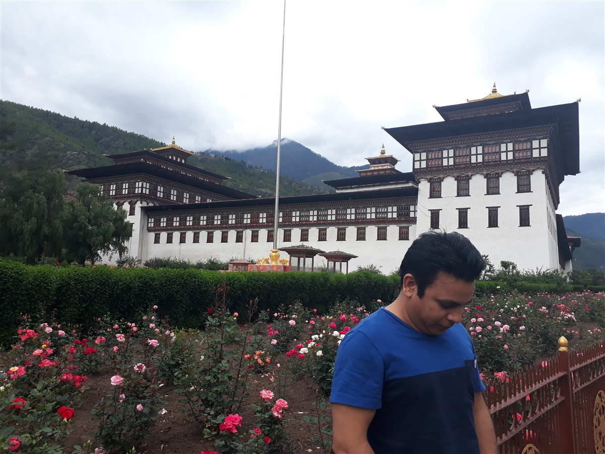Walking in Paro to Thimphu : Bhutan (Jun'18) - Day 1 61