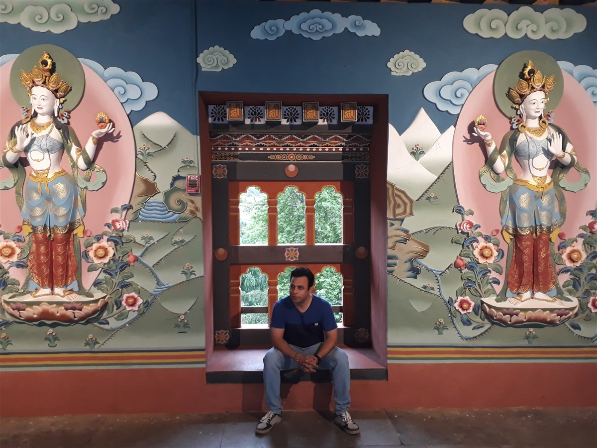 Walking in Paro to Thimphu : Bhutan (Jun'18) - Day 1 55