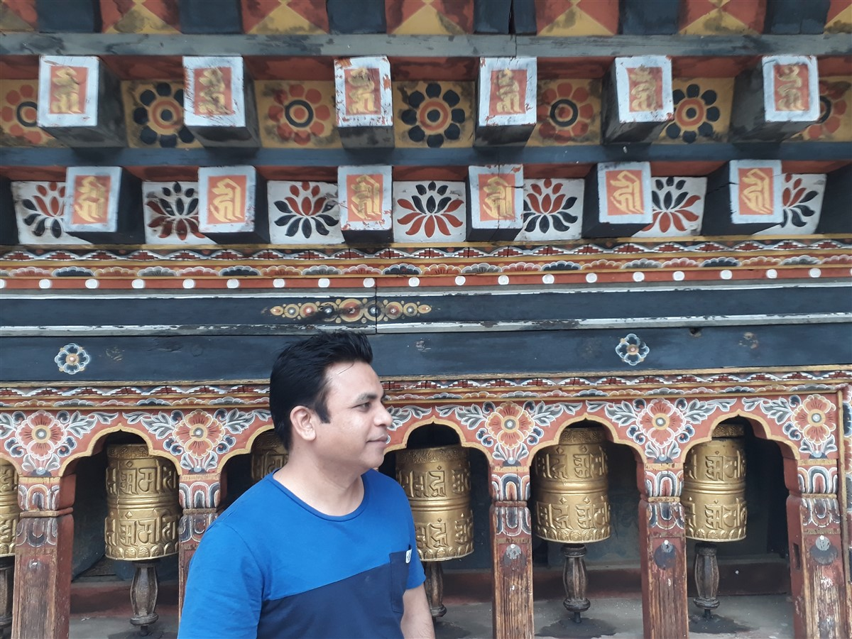 Walking in Paro to Thimphu : Bhutan (Jun'18) - Day 1 51