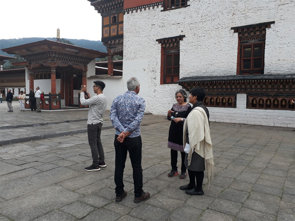 Walking in Paro to Thimphu : Bhutan (Jun'18) - Day 1 47