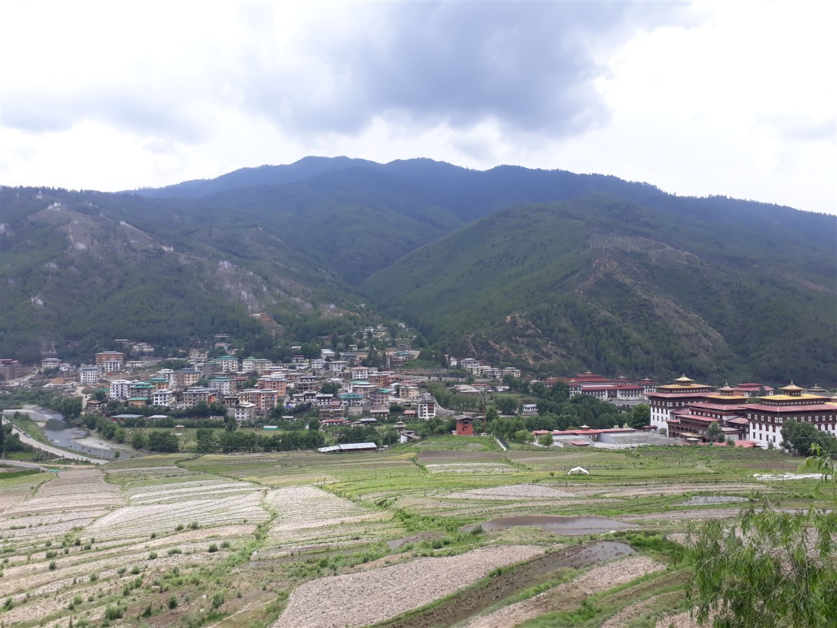 Walking in Paro to Thimphu : Bhutan (Jun'18) - Day 1 17