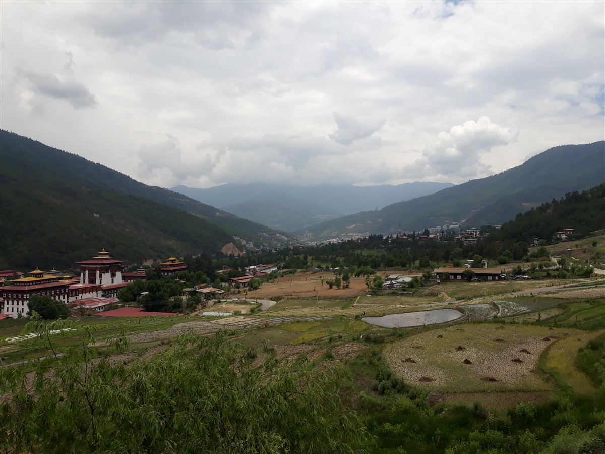 Walking in Paro to Thimphu : Bhutan (Jun'18) - Day 1 16