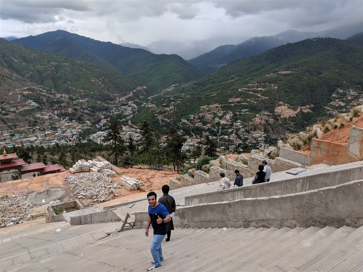 Walking in Paro to Thimphu : Bhutan (Jun'18) - Day 1 36