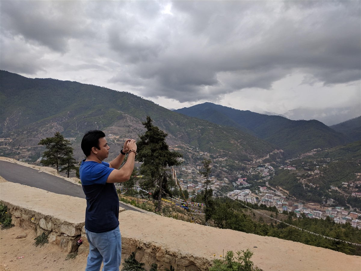 Walking in Paro to Thimphu : Bhutan (Jun'18) - Day 1 35