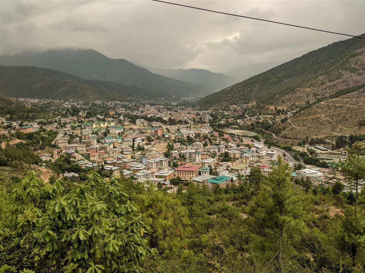 Walking in Paro to Thimphu : Bhutan (Jun'18) - Day 1 34
