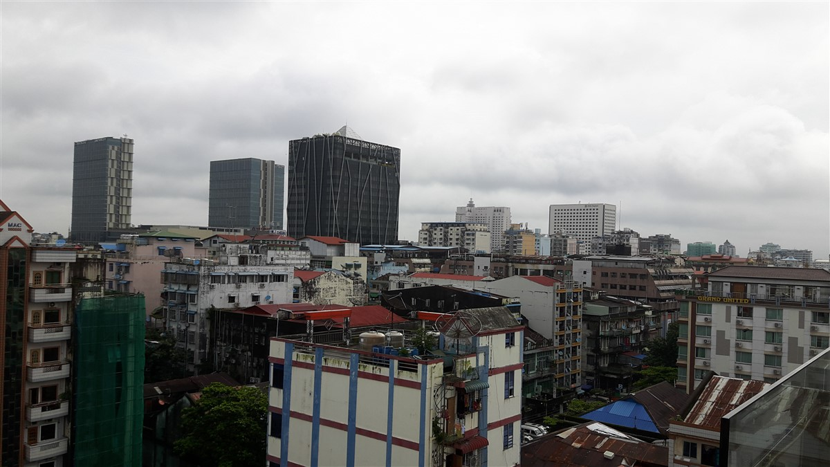 Walking in Yangon City : Myanmar (Aug'18) 19