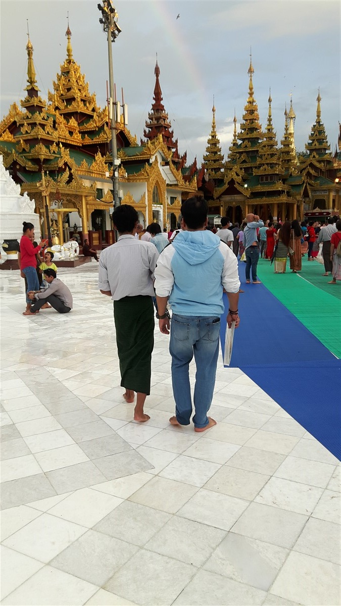 Walking in Yangon City : Myanmar (Aug'18) 33
