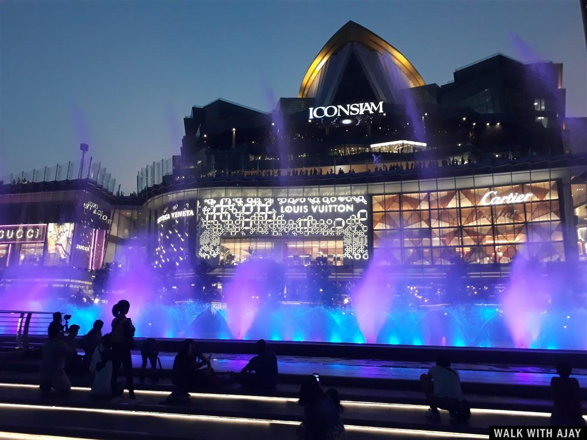 Walking in ICONSIAM Shopping Destination : Bangkok, Thailand (Feb'19) 2