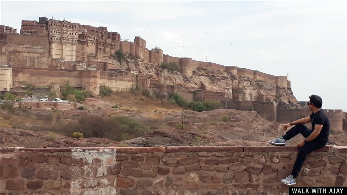 Walking in Mehrangarh Fort : Jodhpur, India (Apr'19) – Day 4 2
