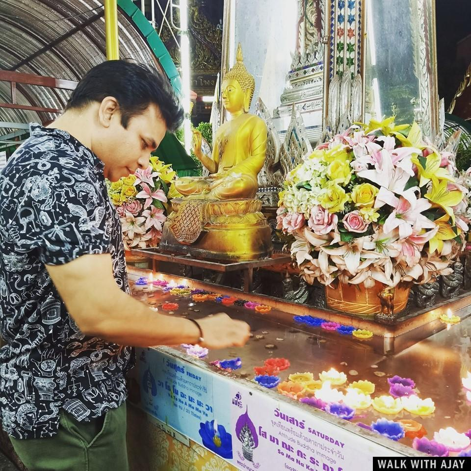Walking in Wat Hua Lamphong Temple : Bangkok, Thailand (Sep'19) 2