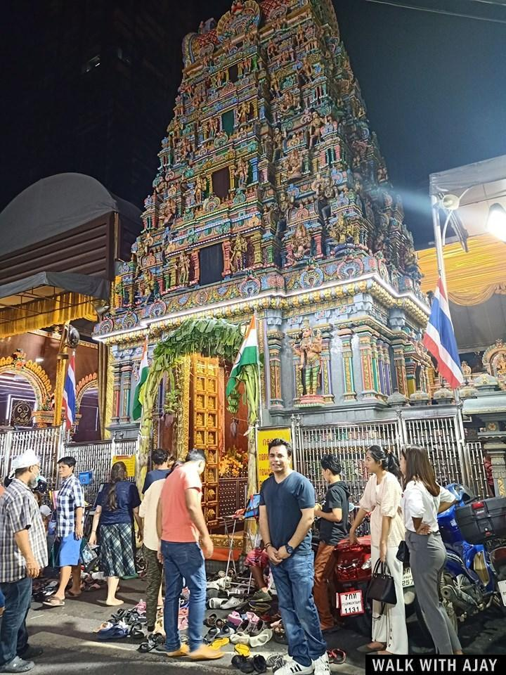 Walking Around Sri Maha Mariamman Temple : Bangkok, Thailand (Sep'19) 1