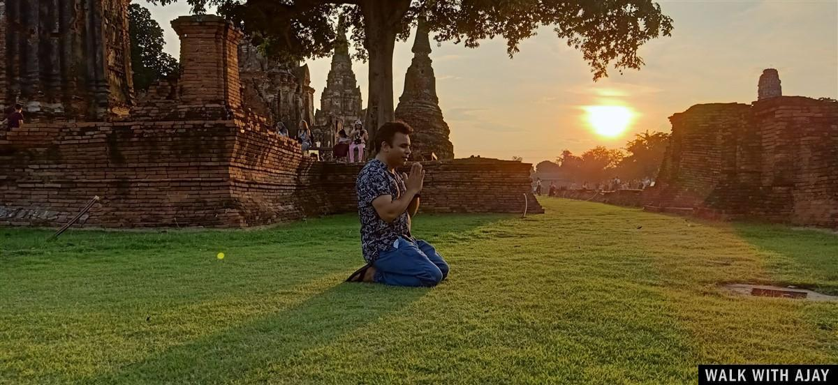 Walking in Ayuthhaya City Temples : Thailand (Oct'19) 13
