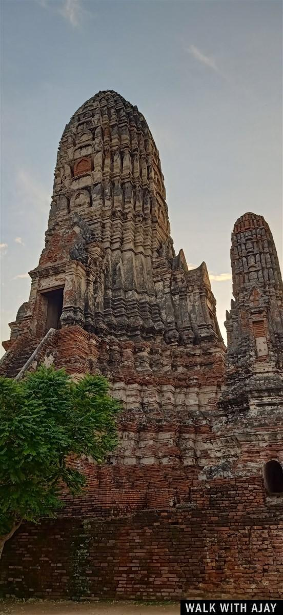 Walking in Ayuthhaya City Temples : Thailand (Oct'19) 14