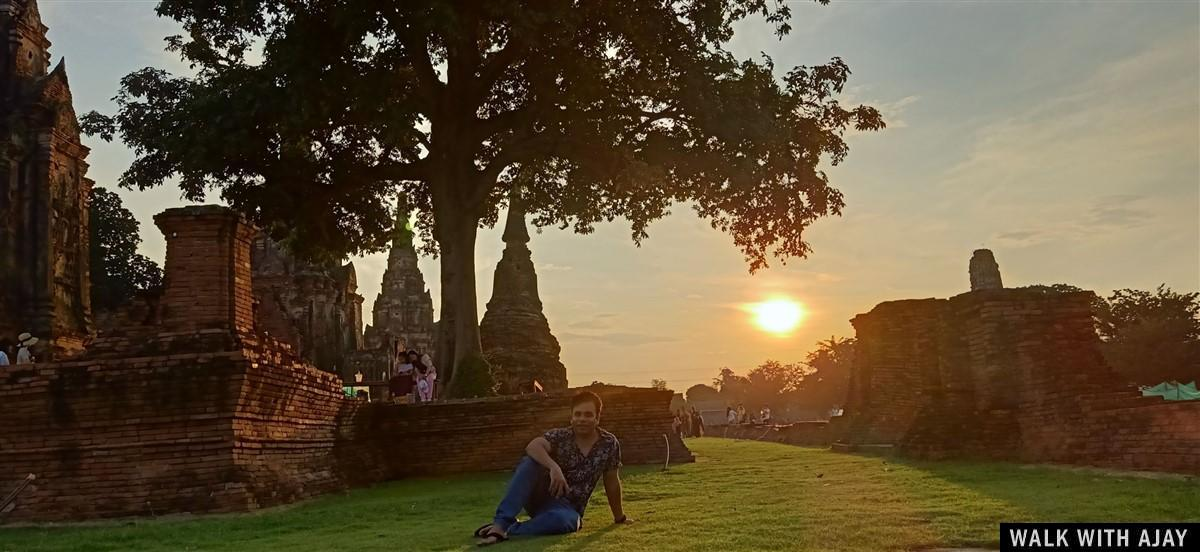 Walking in Ayuthhaya City Temples : Thailand (Oct'19) 15
