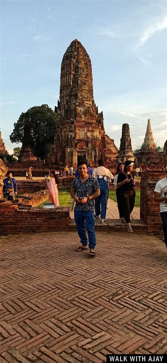 Walking in Ayuthhaya City Temples : Thailand (Oct'19) 18