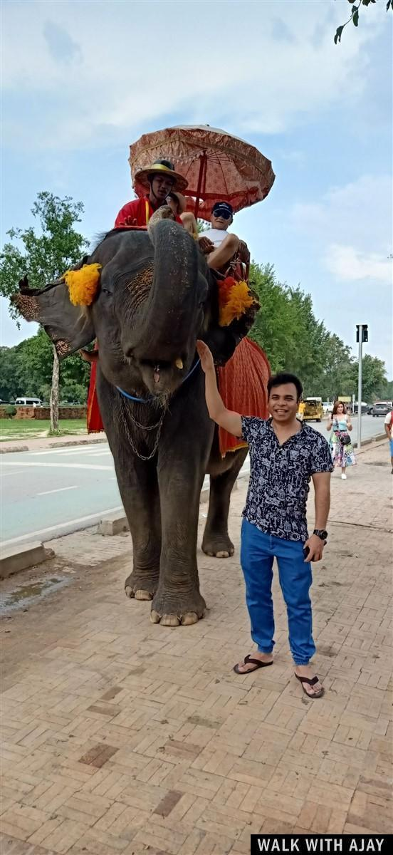 Walking in Ayuthhaya City Temples : Thailand (Oct'19) 41