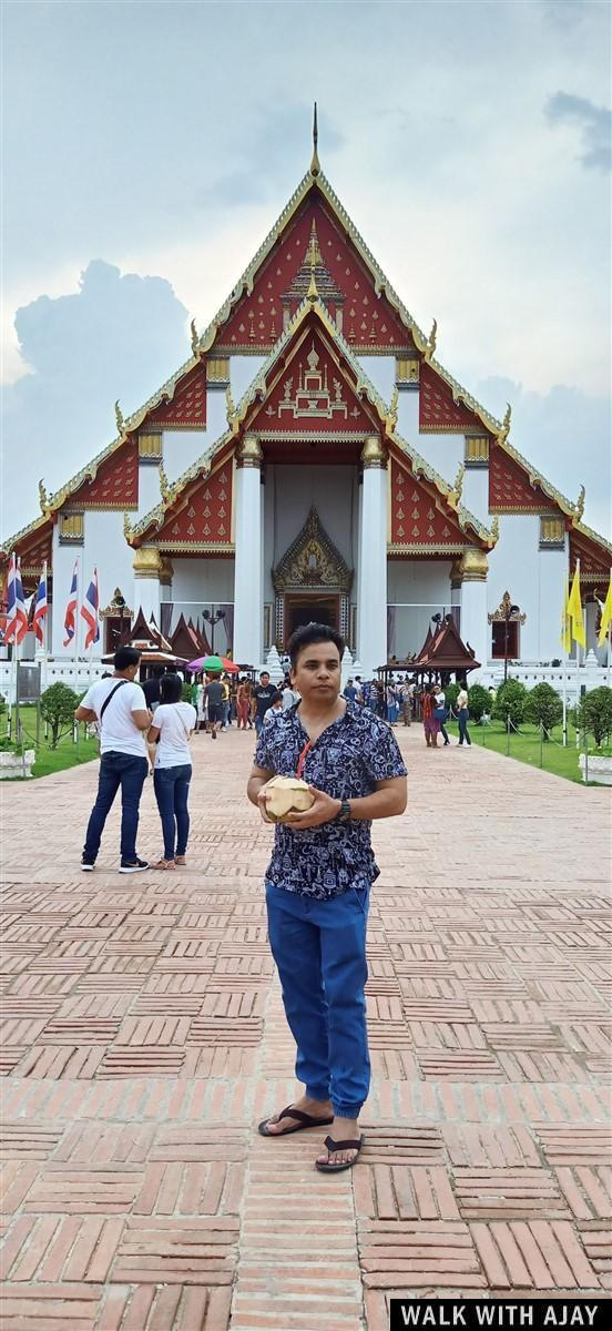Walking in Ayuthhaya City Temples : Thailand (Oct'19) 38