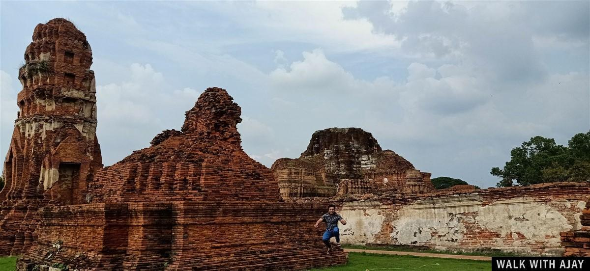 Walking in Ayuthhaya City Temples : Thailand (Oct'19) 44