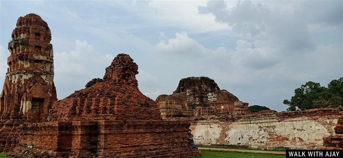 Walking in Ayuthhaya City Temples : Thailand (Oct'19) 45