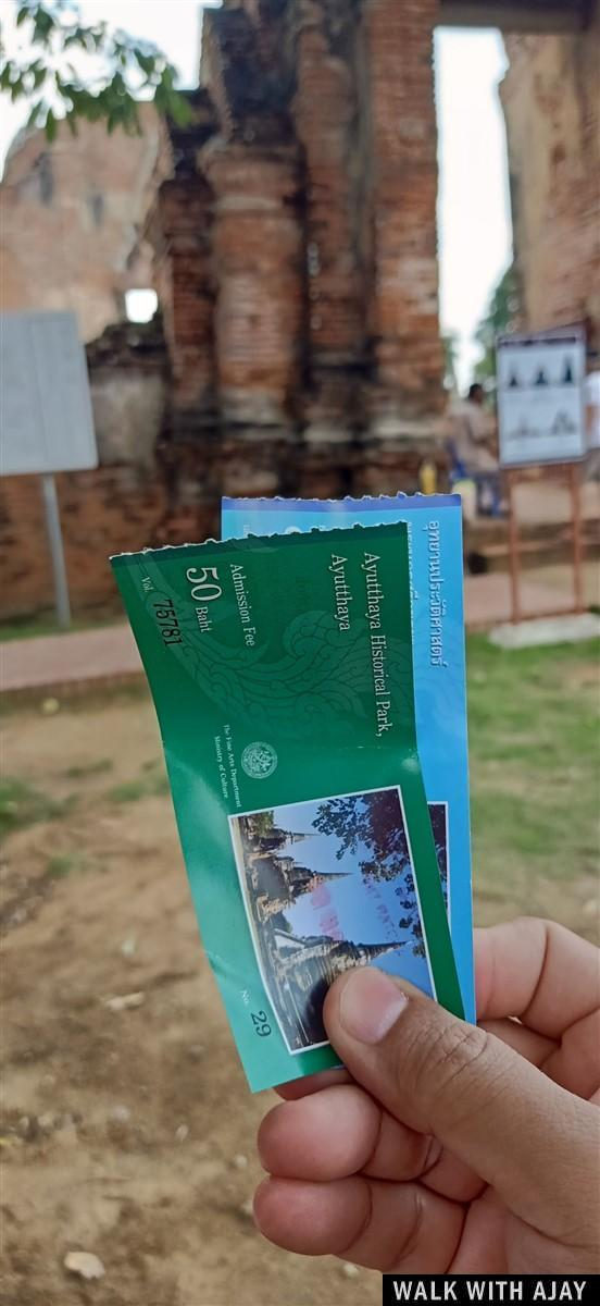 Walking in Ayuthhaya City Temples : Thailand (Oct'19) 11