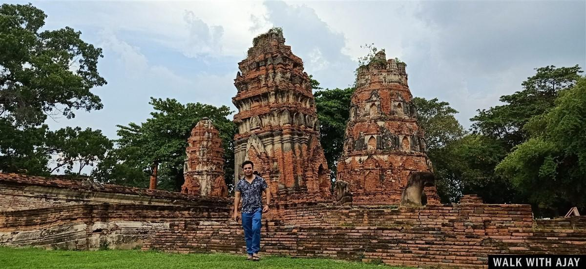 Walking in Ayuthhaya City Temples : Thailand (Oct'19) 46
