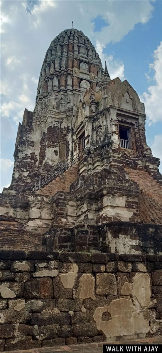 Walking in Ayuthhaya City Temples : Thailand (Oct'19) 5