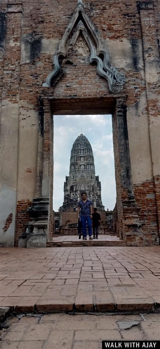 Walking in Ayuthhaya City Temples : Thailand (Oct'19) 7