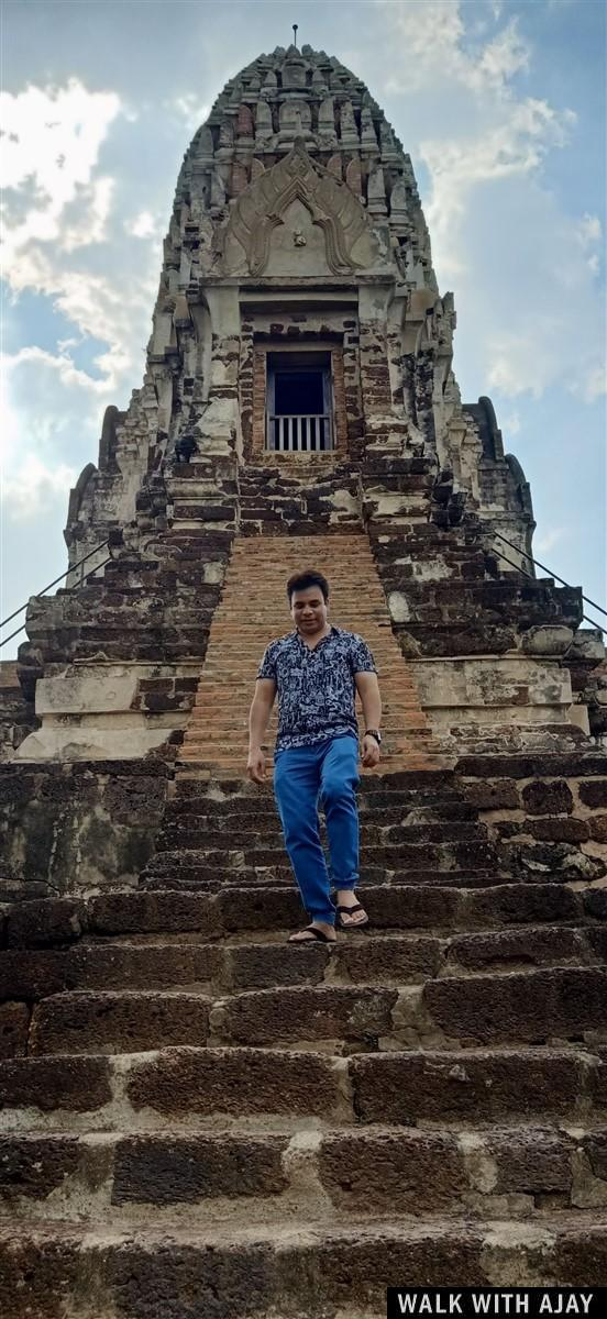 Walking in Ayuthhaya City Temples : Thailand (Oct'19) 4