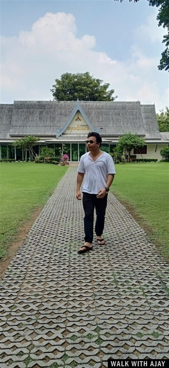 Walking in Ayodhara Village Resort : Ayutthaya, Thailand (Oct'19) 13