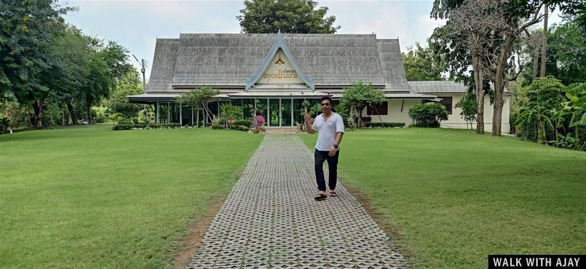 Walking in Ayodhara Village Resort : Ayutthaya, Thailand (Oct'19) 3