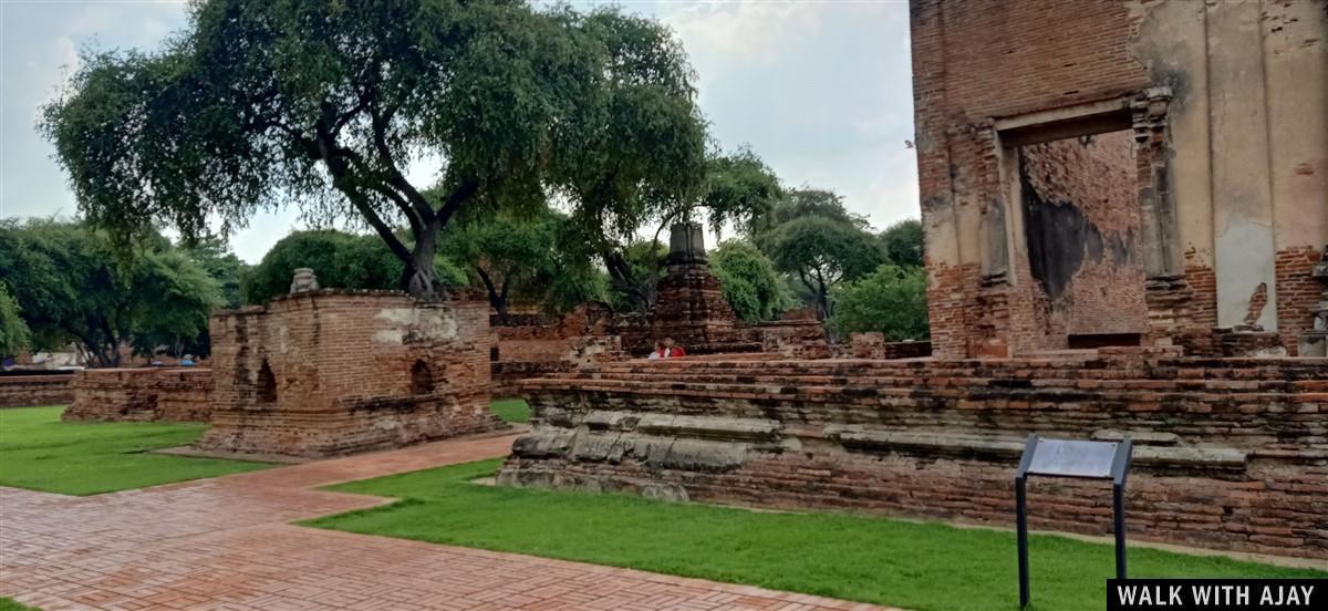 Walking in Ayuthhaya City Temples : Thailand (Oct'19) 48