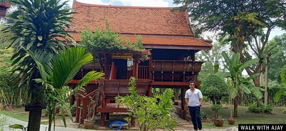 Walking in Ayodhara Village Resort : Ayutthaya, Thailand (Oct'19) 4