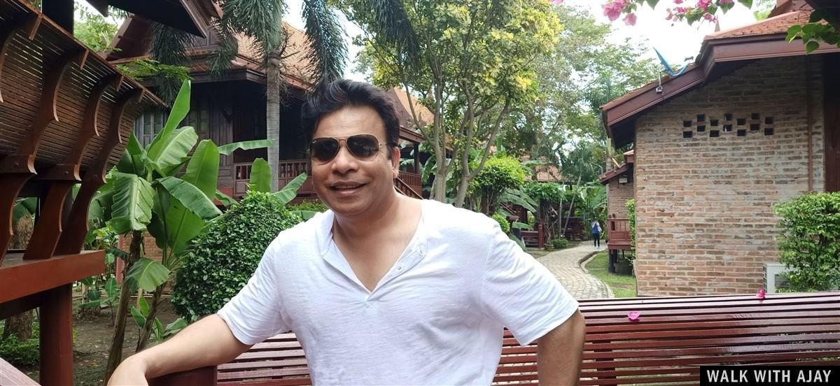 Walking in Ayodhara Village Resort : Ayutthaya, Thailand (Oct'19) 5