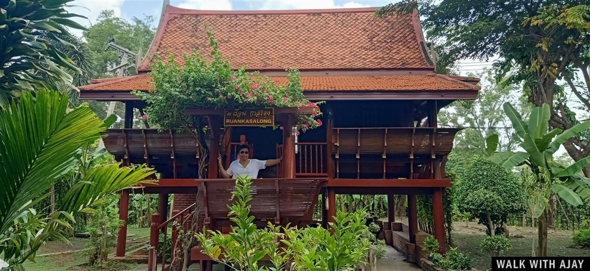 Walking in Ayodhara Village Resort : Ayutthaya, Thailand (Oct'19) 1