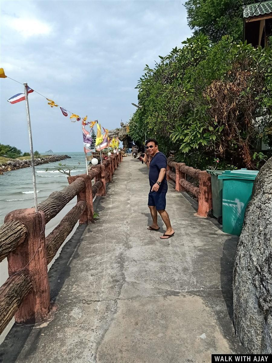 Walking Around Tham Khao Tao Temple & Beach : Pranburi, Thailand (Nov'19) 12