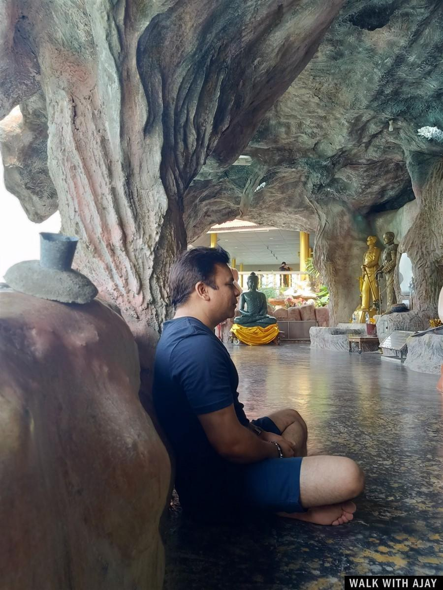 Walking Around Tham Khao Tao Temple & Beach : Pranburi, Thailand (Nov'19) 21