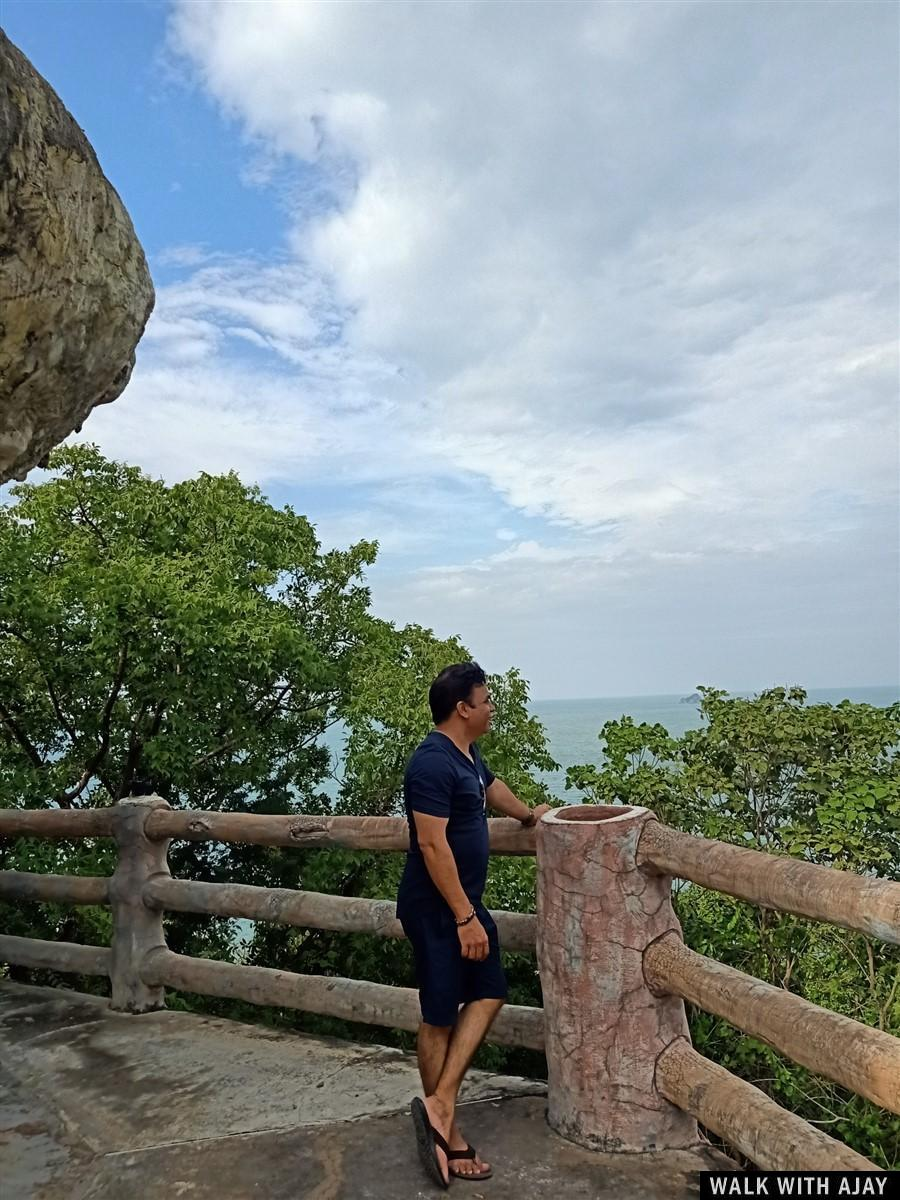 Walking Around Tham Khao Tao Temple & Beach : Pranburi, Thailand (Nov'19) 25