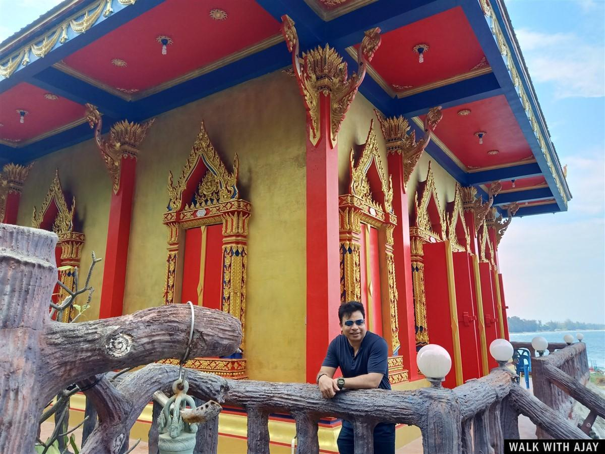 Walking Around Tham Khao Tao Temple & Beach : Pranburi, Thailand (Nov'19) 27
